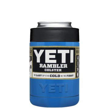 Custom YETI Colster Play Blue Design Your Own Bottle & Can Cooler