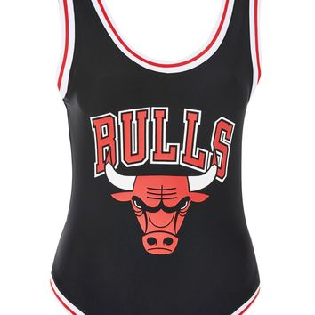 Chicago Bulls Bodysuit by UNK X Topshop - New In Fashion - New In