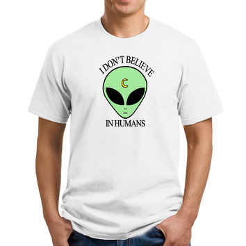I Don't believe in humans alien T-Shirts, Shirt, Shirts, Men's Shirts, Men's Tee, Men's T-Shirt