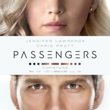 Passengers Movie Mini Poster 11x17
