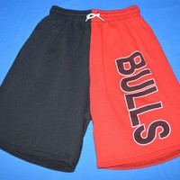 90s Chicago Bulls Basketball Youth Shorts Extra Large