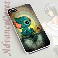 iPhone 4/4S Case, iPhone 5/5S, 5C Case and Samsung Galaxy S3 i9300, S4 i9500 Case - Design Stich and Turtle