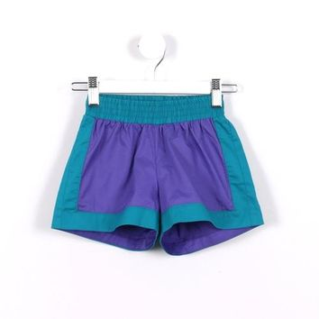 Contrast Stretchband Shorts