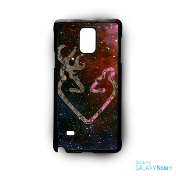 Browning Style Heart Buck Doe Deer Sticker Decal Duck Hunting for Samsung Samsung Galaxy Note 2/Note 3/Note 4/Note 5/Note Edge phonecases