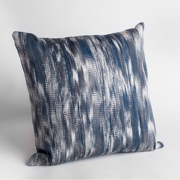 Limited Edition Handwoven Ikat Pillow