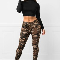 RESTOCKED Alexa Camo Pants