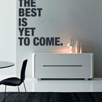 Quote wall decal - The Best is Yet to Come wall decal - Wall Decals , Home WallArt Decals