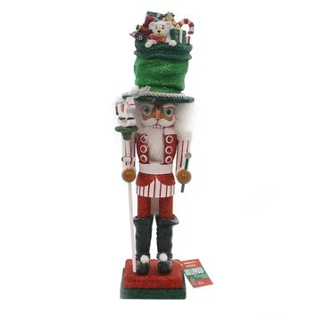 Christmas HOLLYWOOD SNOWMAN TOYMAKER TREE HAT NUTCRACKER Whimsy Ha0412 Toymaker
