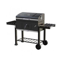 "Kingsford 32"" Charcoal Grill Black 2 Fold-able Side Shelves Bottle Opener"