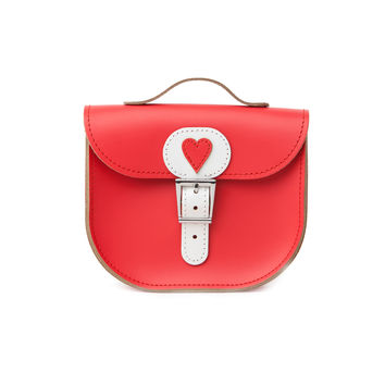 Poppy With Love Leather Bag