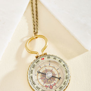 Let Your Compass Be Your Guide Necklace