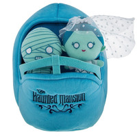 Disney Parks Haunted Mansion Bride Mummy Buggy Plush Playset New with Tags