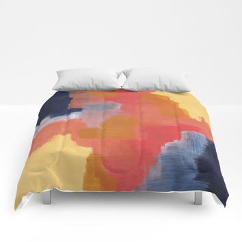Improvisation 70 Comforters by vivigonzalezart