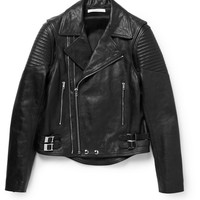 Givenchy - Convertible Leather Biker Jacket | MR PORTER