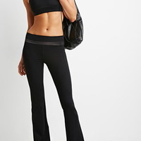Dot-Paneled Yoga Pants