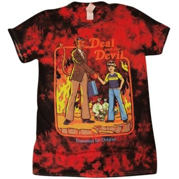 Deal With the Devil Tie Dye Shirt