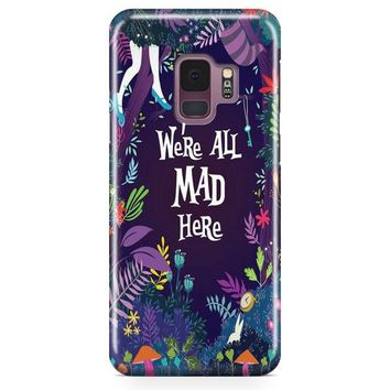 Welcome To Wonderland Samsung Galaxy S9 Plus Case | Casefantasy