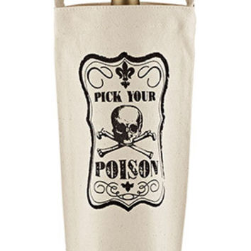 Pick Your Poison Bottle Bag by JKC