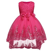 Princess Girl Dress Girls Clothes Ceremonies Party Dresses For Girls Formal Evening Kids Party Wear Dress