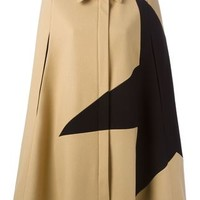Msgm Star Print Cape Coat - Laboratoria - Farfetch.com