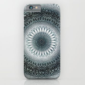 WINTER LEAVES MANDALA iPhone & iPod Case by Nika | Society6