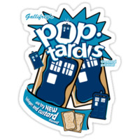 Pop Tardis - with Fishfingers and Custard