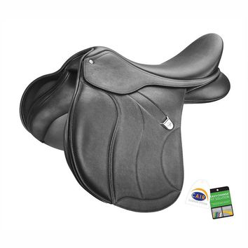 Bates (CAIR) All Purpose Plus Saddle with Luxe Leather