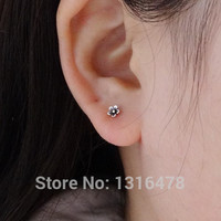 The latest 925 silver restoring ancient ways is Thai silver flower ear bone nail personality delicate miniature models-in Stud Earrings from Jewelry & Accessories on Aliexpress.com | Alibaba Group