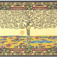 Tree of Life by Klimt I Italian Wall Hanging