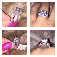 Sterling Silver 925 Wedding Or Engagement Ring With Great Quality Cz