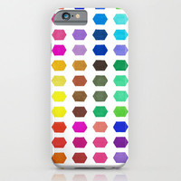 iPhone 6 Case - Hexatone - unique iPhone case, art iPhone case, hipster iphone case, iphone 6 case, iPhone 6 Plus Case