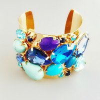 Ocean Crystals Cuff - Limited Edition