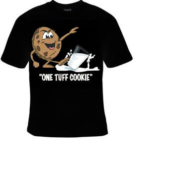 one tuff cookie t shirt funny great cute gift tshirts