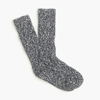 J.Crew Mens Marled Cotton Socks