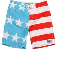 AMBSN Home Boardshorts - Mens Board Shorts - Red - 3
