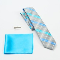 Apt. 9 Big Dock Plaid Skinny Tie Set - Men, Size: One