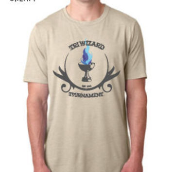 Harry Potter Inspired Clothing - Triwizard Tournament Goblet of Fire Crew Neck - Mens