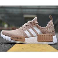 Adidas NMD Trending Leisure Running Sports Shoes Khaki