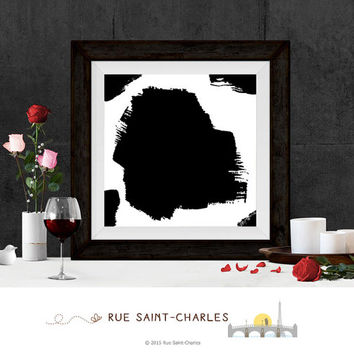 printable art ink brush painting digital art minimalist art modern art prints wall art home decor calligraphy art instant download printable