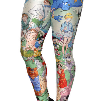 Characters of Disney Leggings Design 504