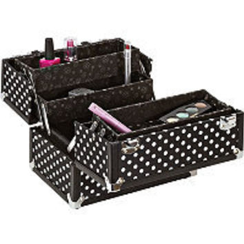 "Caboodles Black/White Dots 10"" Case Ulta.com - Cosmetics, Fragrance, Salon and Beauty Gifts"
