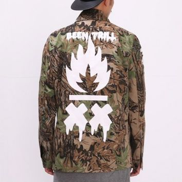 XQUARE 23 LA FLAME Forest Fire Field Jacket
