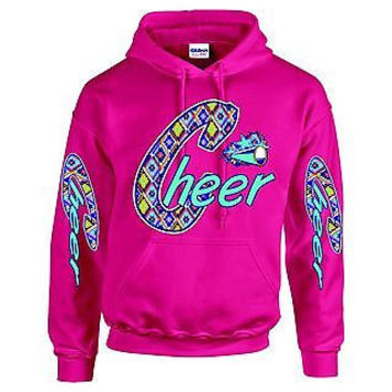 Love Cheer Cheerleader Women's Hooded Sweatshirt