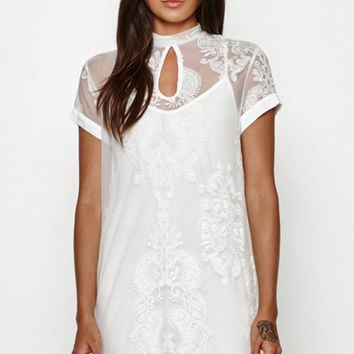 MinkPink The Sweetest Sound Lace Dress at PacSun.com