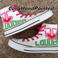 R5 Converse Custom R5 Shoes Custom Painted Converse Hand Painted Shoes Canvas Shoes Custom Shoes unique Birthday Gifts painted Gifts