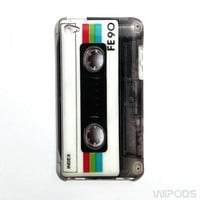 Vintage Cassette Tape Retro Case for the iPod Touch 4th Generation