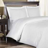 Twin/Twin XL Striped Duvet Cover Sets 100% Combed cotton 300TC