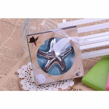 Beach Theme wedding party favor gift and giveaways for guests - Starfish Bottle Opener 50pcs/lot