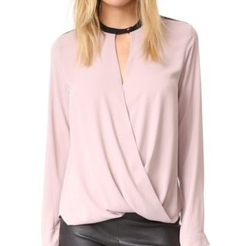 Long Sleeve Signature Blouse