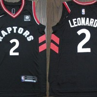 Toronto Raptors #2 Kawhi Leonard Black Basketball Jersey | Best Deal Online
